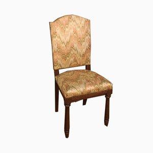 Italienische Buchenholz Sessel, 1960er, 6er Set