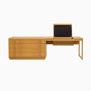 Mid-Century Scandinavian Modern Dressing Table by Bertil Fridhagen for Bodafors