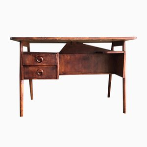 Danish Teak Desk from Tibergaard, 1960s
