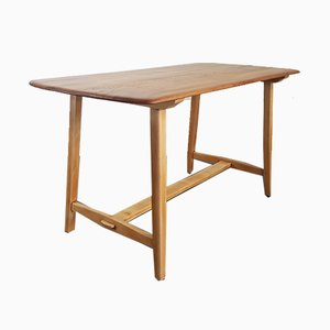 Mid-Century Model CC41 Plank Dining Table by Lucian Ercolani for Ercol