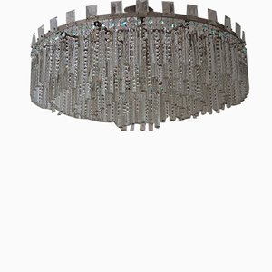 Austrian Cut Crystal Chandelier from Bakalowits & Söhne, 1950s