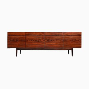 Rosewood Model FA-66 Sideboard by Ib Kofod Larsen for Faarup Møbelfabrik, 1960s