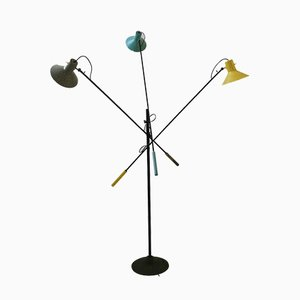 Mid-Century Adjustable Model 1052 Floor Lamp by Gino Sarfatti for Arteluce, 1950s