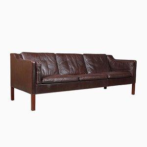 Vintage 3-Seat Sofa by Børge Mogensen for Fredericia