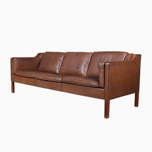 Vintage 3-Sitzer Sofa von Børge Mogensen für Fredericia