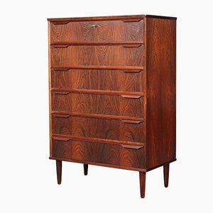 Danish Rosewood Cabinet Maker Chest of Drawers, 1960s