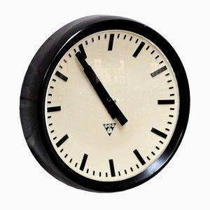 Vintage Industrial Bakelite Wall Clock