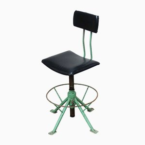 Chaise d'Atelier Vintage de Raba