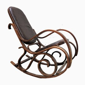 Vintage Czechoslovakian Rocking Chair