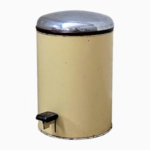 Industrieller Vintage Mülleimer