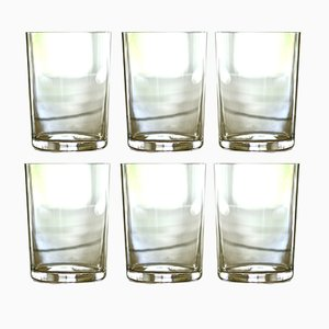 Vasos de agua de Deborah Ehrlich. Juego de 6