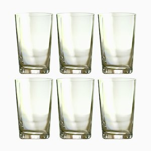 Red Wine Glasses by Deborah Ehrlich, Set of 6
