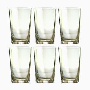 Red Wine Glasses by Deborah Ehrlich, Set of 6