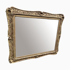 Antique English Gilt Wood & Gesso Mirror