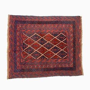 Vintage Afghan Wool Mashwani Rug 135x110 cm