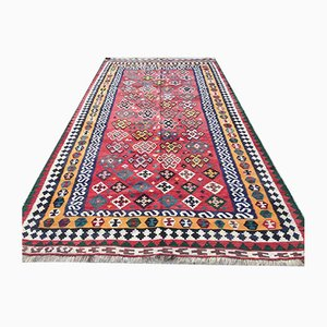Antique Rustic Middle Eastern Kilim Country House Rug 282x152 cm