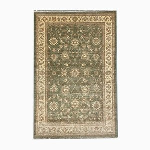 Afghan Natural Dyed Wool Handmade Chobi Ziegler Rug 242x158