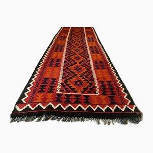 Vintage Afghan Narrow Kilim Runner 384x94 cm