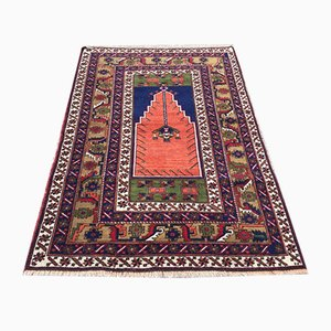Vintage Turkish vegetable dye Prayer Rug 175x115cm