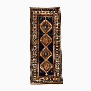 Antique Caucasian Kazak Rug 310x130 cm, 1910s