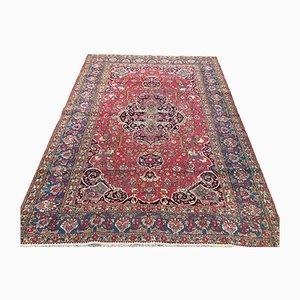 Antiker orientalischer handgearbeiteter Kashan Teppich in Naturdye 214x146 cm