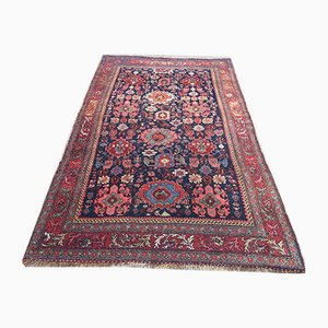 Antique Middle Eastern Woolen Handmade Rug 230 x 139 cm