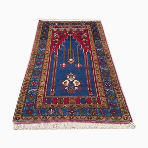 Vintage Turkish Vegetable Dye Prayer Rug 170 x 100 cm