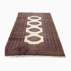Vintage Turkoman Handmade Bokhara Rug 180x125cm