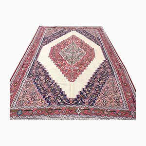 Vintage Rustic Middle Eastern Kilim Rug