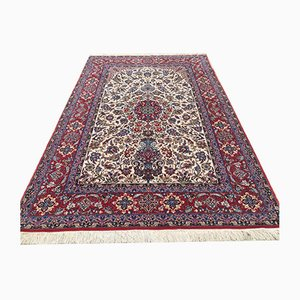 Middle Eastern Fine Knotted Part Silk Rug 240x160cm