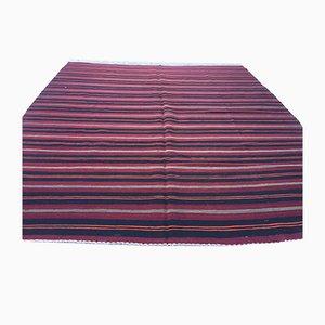 Vintage Turkish Shabby Wool Kilim Rug 255x220 cm