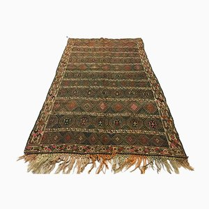Large Antique Turkish Moroccan Shabby Kilim Rug 240 x 137 cm