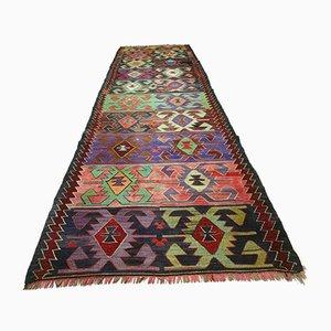 Tapis Kilim Shabby Kilim Vintage, Turquie, 316x97 cm