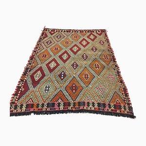 Tapis Kilim Vintage Taille Moyenne, Italie, 185x139cm