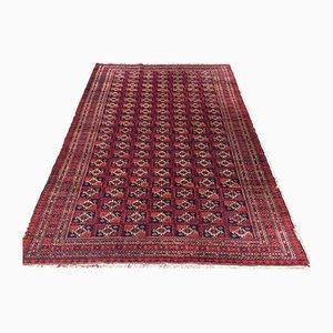 Handgefertigter Turkoman Traditioneller Vintage Teppich 184x124cm