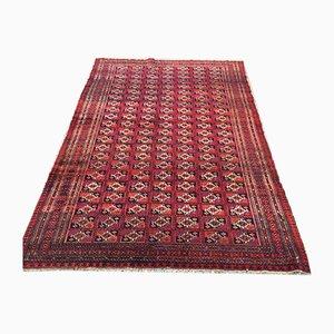 Vintage Turkoman Traditional Handmade Rug 180x122cm