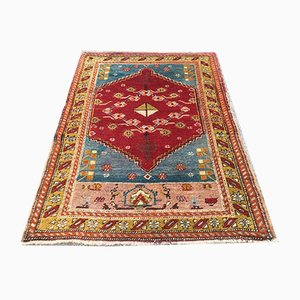 Antique Turkish Handmade Wool Rug 130x91cm