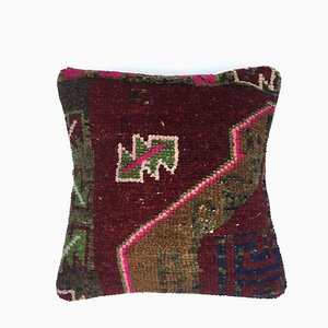 Vintage Turkish Persian Moroccan Bohemian Carpet Cushion Cover