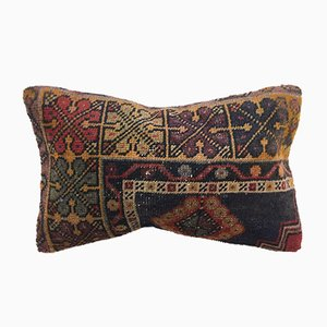 Vintage Turkish Moroccan Distressed Handmade Cushion Cover 50 x 30 cm