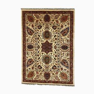 Afghan Handmade Natural Dye Wool Ziegler Rug 241x186 cm
