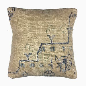 Vintage Turkish Moroccan Distressed Handmade Cushion Cover 40x40cm