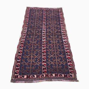 Afghan Handmade Wool Tribal Mashwani Rug 92x172cm