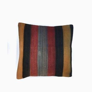 Vintage Turkish Moroccan Colourful Wool Kilim Cushion Cover