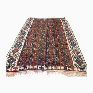 Large Vintage Turkish Moroccan Shabby Wool Kilim Rug 230x160cm