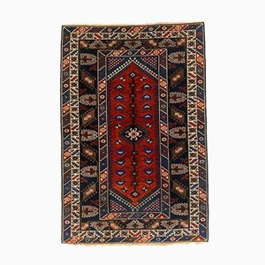 Vintage Turkish Vegetable Dye Tribal Rug 232x153 cm