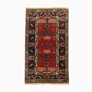 Vintage Turkish Vegetable Dye Tribal Rug 215x125 cm