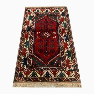 Vintage Turkish Vegetable Dye Tribal Rug 200 x 115 cm