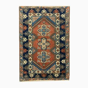 Vintage Turkish Vegetable Dye Tribal Rug 175x118 cm