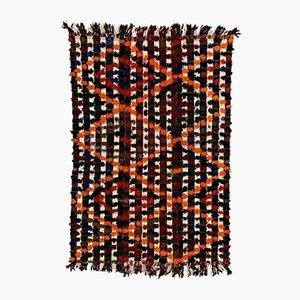 Large Vintage Turkish Wool Kilim Rug 245x157 cm