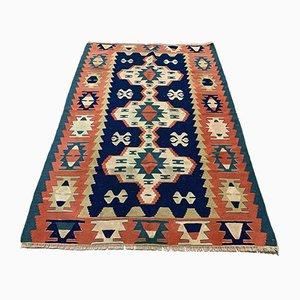 Türkischer Vintage Shabby Kilim Teppich Größe 170 x 113 cm